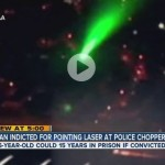 Man Faces Federal Charges in Denver for Pointing Laser at Helicopter